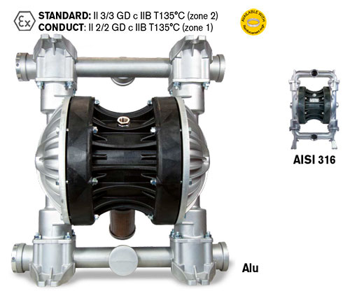 BOXER 502 - мембранный насос высокой производительности