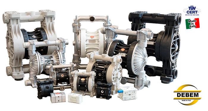 DEBEM Membrane pumps