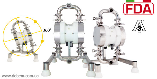 DEBEM Pharmaceutical pumps