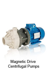 DM Magnetic Drive Centrifugal Pumps