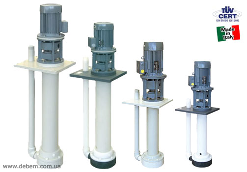 DEBEM Vertical pumps