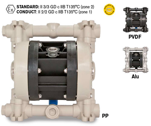 BOXER 50 Diaphragm Pump